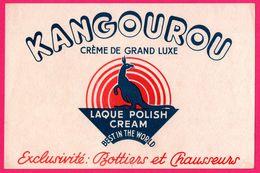 BUVARD - KANGOUROU - Crème De Grand Luxe - Laque Polish Cream - Bottiers Et Chausseurs - Shoes