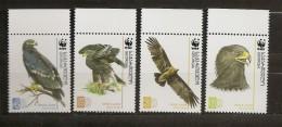 Georgie Georgia 2007 N° 420 / 3 ** WWF, Protection De La Nature, Oiseau, Aigle Clanga, Aigle Criard, Animaux, Serres - Géorgie