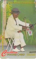 ANTIGUA & BARBUDA(GPT) - Playing The Saw, CN : 97CATD(normal 0), Tirage %45000, Used - Antigua And Barbuda