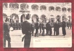 TUNISIA Bizerte-Remise Des Décorations Par Le Président Loubet UNUSED PRE-CURSER UNDIVIDED BACK - Tunisie