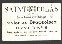 Liège - Mont De Piété - Publicité / Reclame Galeries Brugeoises Sint-Niklaas / Saint-Nicolas - Liege