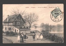 Liège - Fragnée - Vue Sur La Meuse - Maison De L'éclusier - 1911 - Animée - Liege