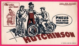 BUVARD - HUTCHINSON - Pneus - Vélo - Moto - Vélomoteur - Plus Solide Que L'Acier - N. FORTIN Et Ses Fils Paris 14e - Bikes & Mopeds
