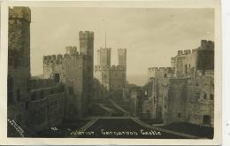 CAERNARFONSHIRE - CAERNARVON - CASTLE INTERIOR RP  Gwy56 - Caernarvonshire