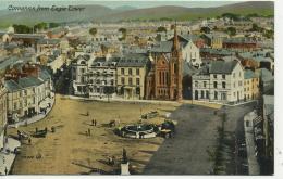 CAERNARFONSHIRE - CAERNARVON - FROM EAGLE TOWER  Gwy57 - Caernarvonshire