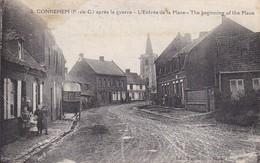 CPA Gonnehem Après La Guerre - L'Entrée De La Place - The Beginning Of The Place - Ca. 1920 (37014) - Bethune