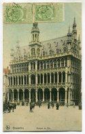 CPA - Carte Postale - Belgique - Bruxelles - Maison Du Roi (SV5981) - Monumenten, Gebouwen
