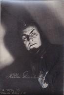 NICOLAI GHIAUROV AUTOGRAPH OPERA SINGER ORIGINAL PHOTO SIZE 10x15cm CIRCA 1960's- BLEUP - Autogramme & Autographen