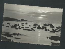 La Guardia ( Pontevedra ) Puesta Del Sol En El Puerto     - Cpsm Format Cpa - Xh03 - Pontevedra