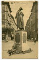 CPA - Carte Postale - Belgique - Bruxelles - Statue Gabrielle Petit (SV5982) - Monumenten, Gebouwen