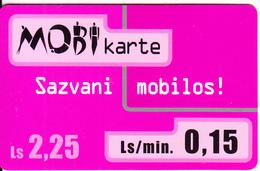 LATVIA - Lattelecom Prepaid Card Ls 2.25, Used - Latvia