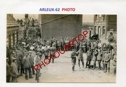 ARLEUX-Concert-Musique-PHOTO Allemande-Guerre 14-18-1WK-France-62-Militaria- - France