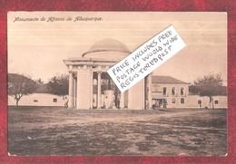 INDIA PORTUGUESA - NOVA GOA Monumento De Affonso De Alburquerque PUBLISHER CHRISTOVAM FERNANDES NOVA GOA - India