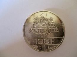 France: 100 Francs 1986 Piedfort - France