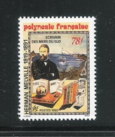 POLINESIA FRANCESE - 199:  Valore Nuovo S.t.l. Da 78 F.- 150° ANNIV. ARRIVO DI HERMAN MELVILLE - In Ottime Condizioni. - Polinesia Francese