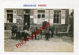 ARLEUX-Veau-Poulain-PHOTO Allemande-Guerre 14-18-1WK-France-62-Militaria- - France