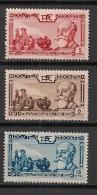 Indochine - 1938 - N°Yv. 199 à 201 - Paul Doumer - Série Complète - Neuf Luxe ** / MNH / Postfrisch - Indochina (1889-1945)