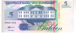 Surinam P.136   5 Gulden 1998 Unc - Surinam