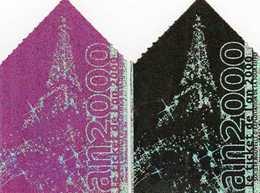 AN 2000 - 2 TICKETS Accès à La Tour Eiffel - Tickets D'entrée