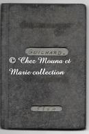 GUICHARD ROGER NE EN 1902 A ORCHAMPS VIT A TAVAUX JURA - PASSEPORT 1960 DONT TAMPONS ESPAGNE - Documents Historiques