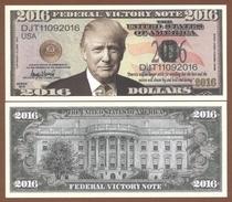 USA 2016 Dollars UNC. Donald Trump (type II) - Billets