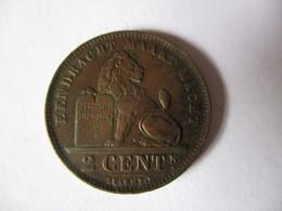 Belgique: 2 Centimes 1919 - 1865-1909: Leopold II