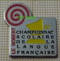 DICTIONNAIRE LE ROBERT  1er CHAMPIONNAT SCOLAIRE DE LA LANGUE FRANCAISE - Médias