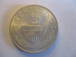 Autriche: 5 Schilling 1967 (argent) - Austria