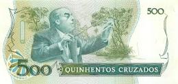 BILLET  BRESIL  500  CRUZADOS - Brasile