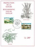 Belgie Belgium 1967 - Kaart Natuur - OBP 1408-1409 - Protection De L'environnement & Climat