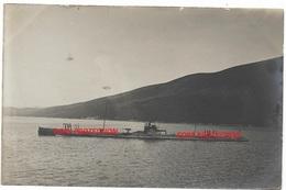 """GERMAN IMPERIAL SUBMARINE UB-35 IN BOCCHE DI CATTARO, 1916. RARE  """"lc"""" - Guerre 1914-18"""