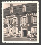 Falmignoul - Carte Photo Publicitaire Agfa - Pension De Famille 'Le Coin Fleuri' - Animée - 8,9 X 9,9 Cm - Dinant