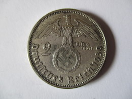 Germany 2 Reich Mark 1939 A - [ 4] 1933-1945 : Third Reich