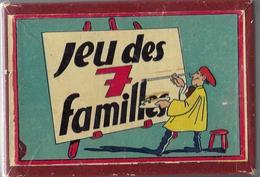 Ancien Jeu Des 7 Familles (hôteliers,artiste,cirque,alimentation,sportifs,agriculteur,savants) Complet Dans Sa Boîte - Jouets Anciens