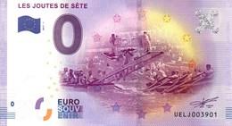 Billet Touristique 0€ Les Joutes De Sète 2017-1 (34) - EURO