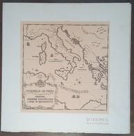 YT N°1478 Sur Document - EGEXPHIL - MARSEILLE + Timbre Grèce - France