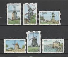 "FRANCE / 2010 / Y&T N° 4485/4490 ** : Les 6 TP Du BF ""Moulins"" - Gomme D'origine Intacte - Francia"