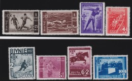 Romania   .    Yvert   .   515/522  ( 521/522:  * )       .       **       .       MNH    .   /    .      Postfris - 1918-1948 Ferdinand, Charles II & Michael