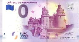 Billet Touristique 0€ Château De Pierrefonds 2018-1 (60) - EURO