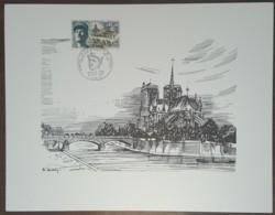 FDC 1969 - YT N°1607 - GENERAL LECLERC MARECHAL DE FRANCE - PARIS - Sur GRAVURE SAINSON - FDC
