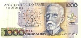 BILLET  BRESIL  1000 CRUZADOS - Brazil