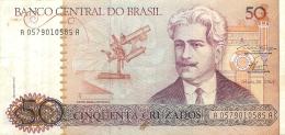 BILLET  BRESIL   50  CRUZADOS - Brésil