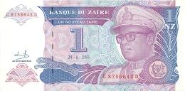 BILLET   ZAIRE  1 NOUVEAU ZAIRE - Zaire