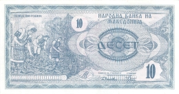 BILLET   MACEDOINE  10 - Macedonia