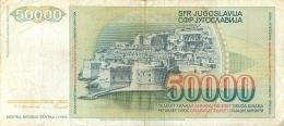 BILLET   YOUGOSLAVIE  50000 - Yugoslavia