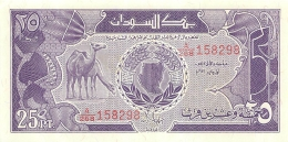 BILLET   SOUDAN   25 PIASTRES - Sudan