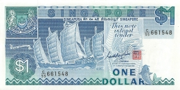 BILLET  SINGAPORE  ONE DOLLAR - Singapour
