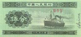 BILLET  CHINE - Cina