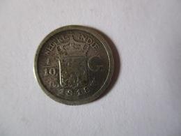 Netherland: 1/10 Gulden 1918 - [ 4] Colonies