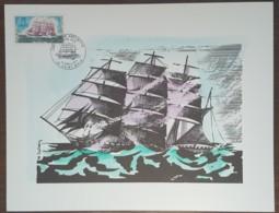 FDC 1971 - YT N°1674 - CAP HORNIER ANTOINETTE - SAINT MALO - Sur GRAVURE SAINSON - 1970-1979
